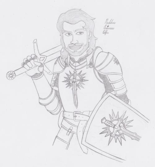 Sir Neddus A True Follower Of The Glorious Light Iomedae And Lacker