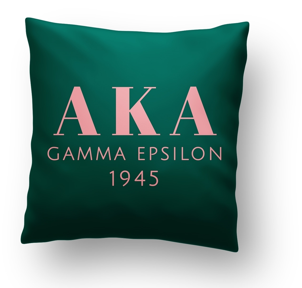 Custom Sorority Pillow