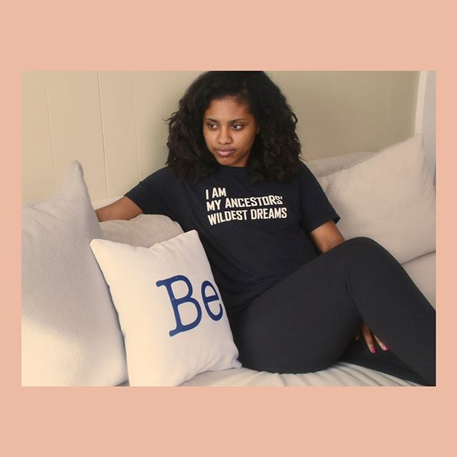 Be. What word(s) inspires you? Pillow: Solace  Shirt: @studio_be_ . . . . #apartmentdecor #apartment #apartmenttherapy #goodvibes #inspo #homedecor #throwpillows #livingroomdecor #adulting #whitepillow #minimalist #liveyourbestlife #introvert #gifts