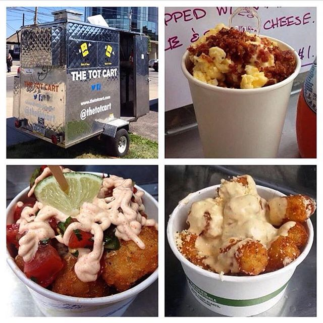 It's bright and early Monday morning and we're already hungry here at CCFTB HQ which is why we're so amped to let you know that our friends at The Tot Cart (@thetotcart) will be joining us once again THIS YEAR! Armed with hundreds of pounds of tots and buckets on buckets of beer cheese and bacon, you'll strongly consider swimming in a sea of cheese while stuffing your faces with recipes that include old bay seasoning, garlic parm and of course their big ticket item, breakfast tots which are smothered in scrambled eggs, beer cheese and bacon (They sell fast. Like super fast!). Yup. That just happened! Now, give me some of your tots, Napolean! #thetotcart #tatertots #totsarelife #ilikefoodfoodtastesgood #foodtrucks