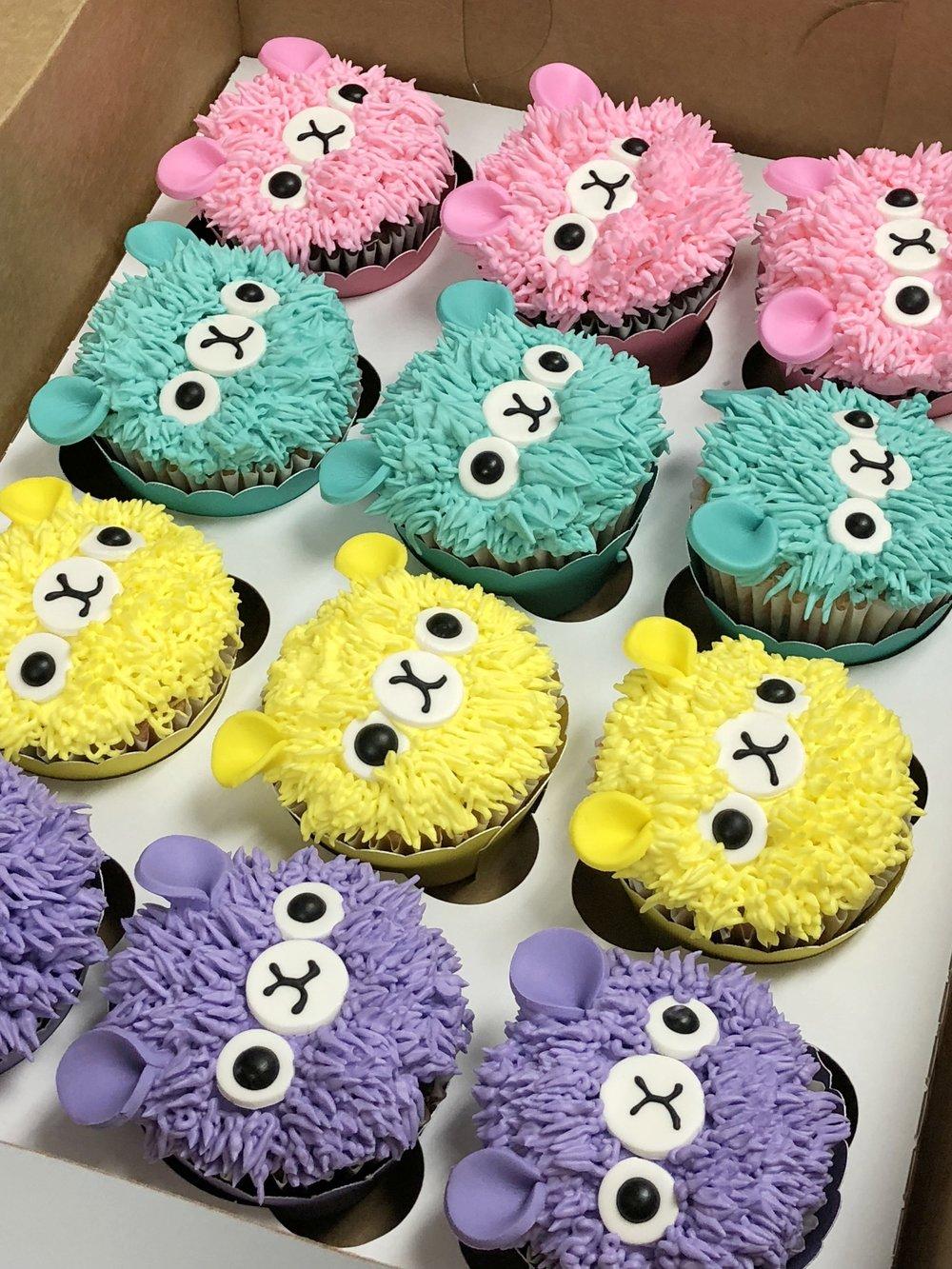 Buttercream cupcakes