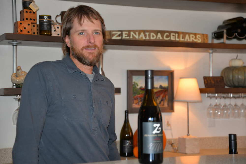 Eric Ogorsolka knows how to treat guests right at Zenaida Cellars