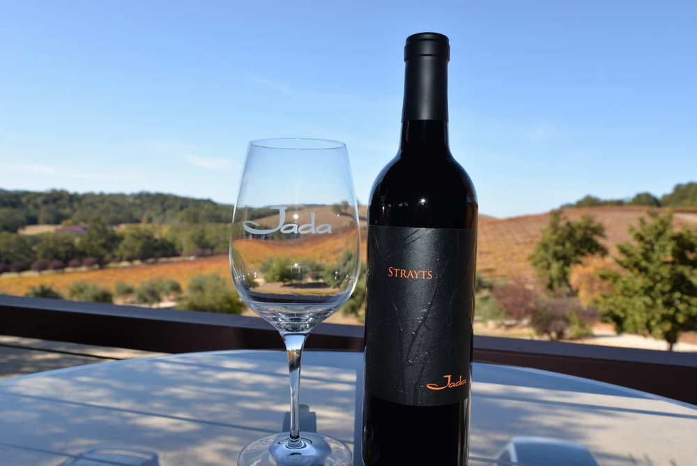 Come for the wine, stay for the view at Jada Vineyard and Winery.
