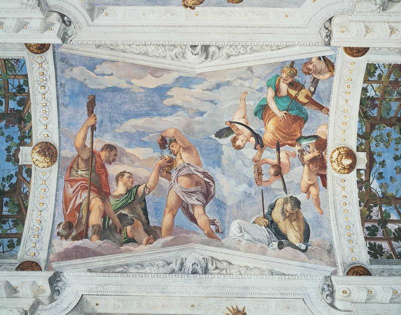 Paolo Veronese – Bacco e i pastori | Copyright Villa di Maser