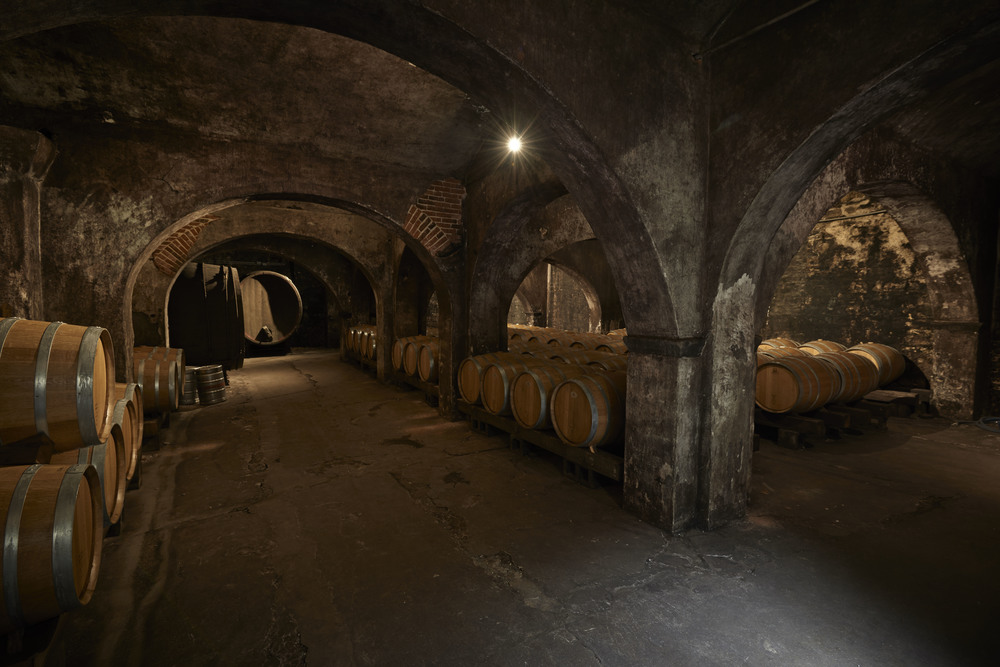 The so called 'Office Cellar' at Stone Hill Winery | Photo credit: Stone Hill Winery