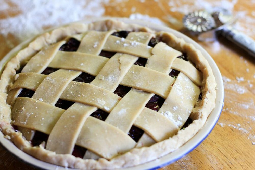 Lattice Pattern on the Pie