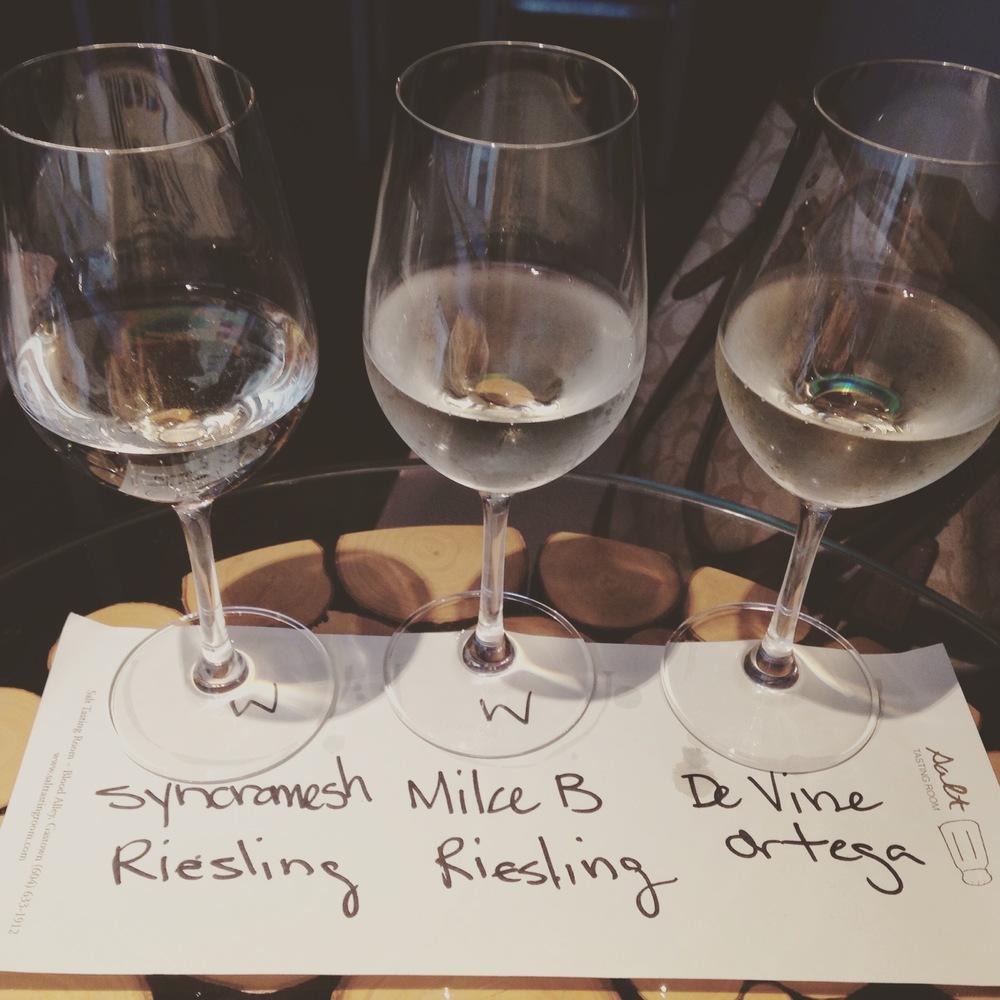 Wine Tasting at Salt Tasting Room