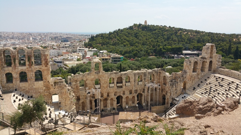 Exploring Athens, Greece