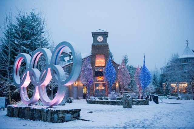 Olympic Rings at Whistler