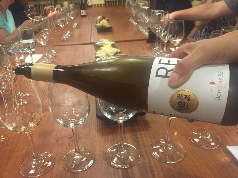 Tasting at Bodegas RE. Credit   Gabe Manzo