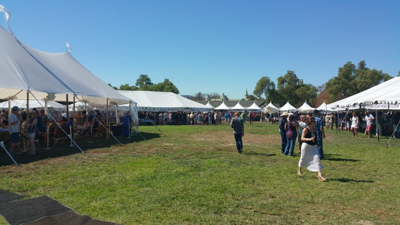Grand Tasting at the Harvest Festival