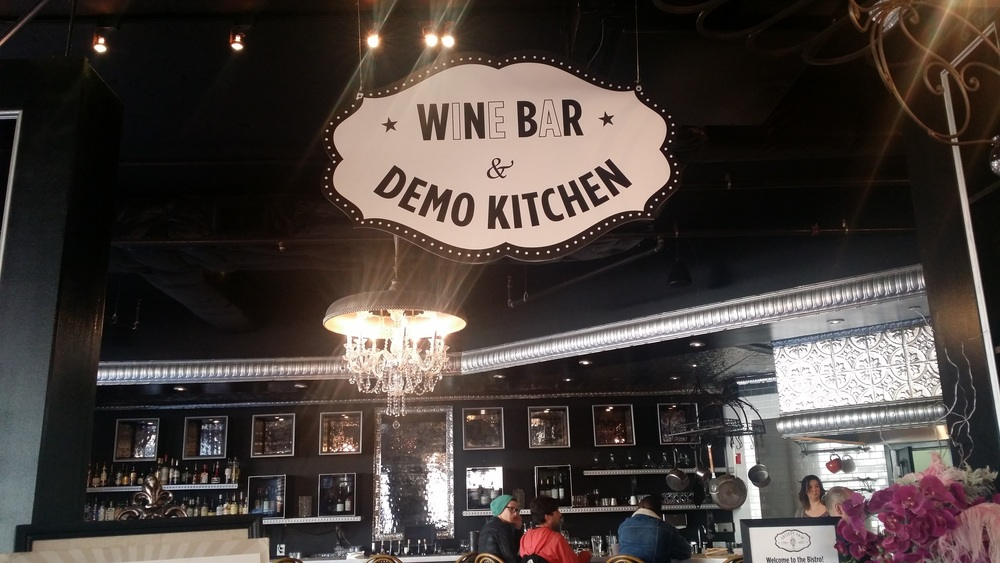 Society Fair's Wine Bar and Demo Kitchen