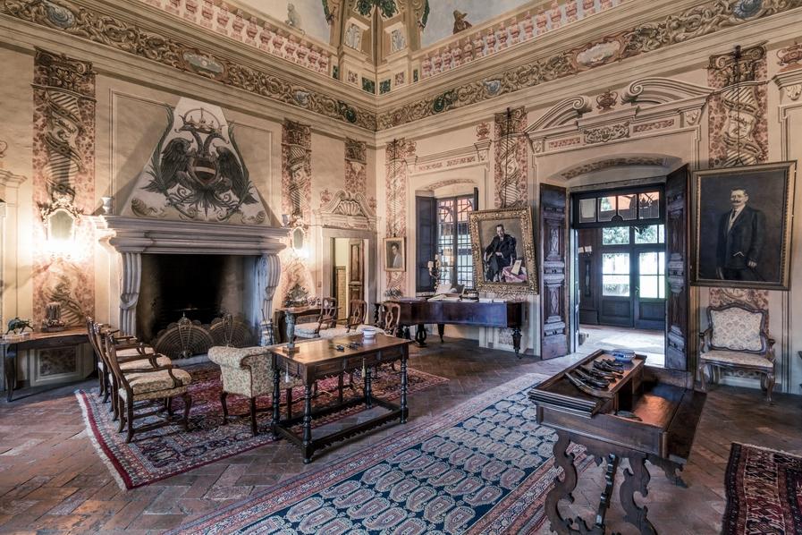 Palazzo Lana Berlucchi | Photo Credit: Berlucchi Winery
