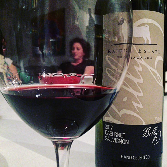 Winemaker in a glass! Emma Raïdis of Coonawarra.