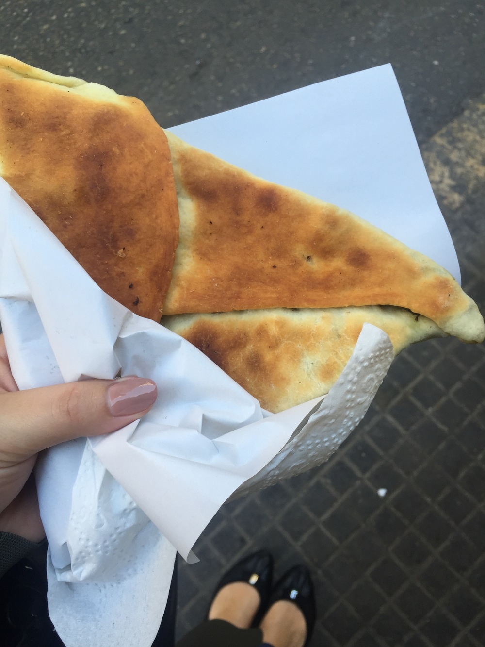 Breakfast on the streets of Hamra, Beirut..jpg