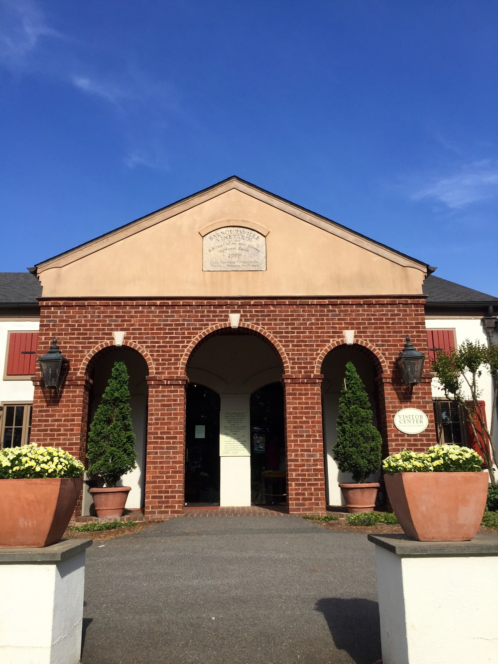 Tasting room of Barboursville Vineyards