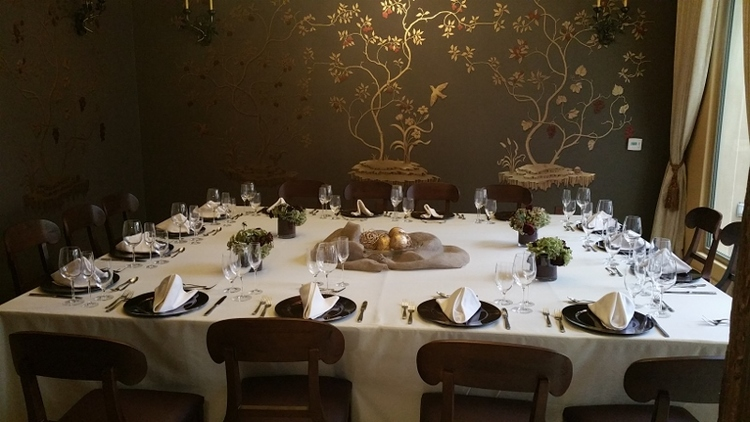 Murano Private Dining Room at Allegretto Vineyard Resort