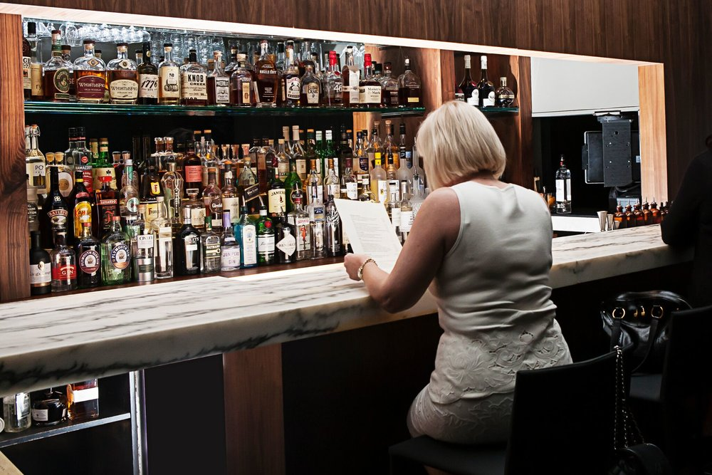 The Bar at Aria | Photo Credit: LuAnne DeMeo