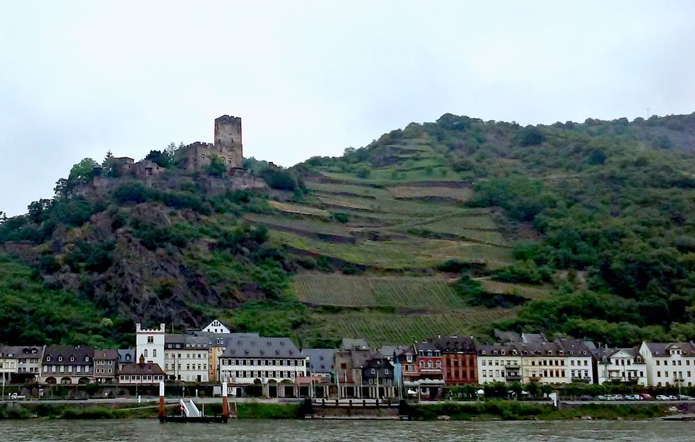 Castles line the Mosel and Rhine