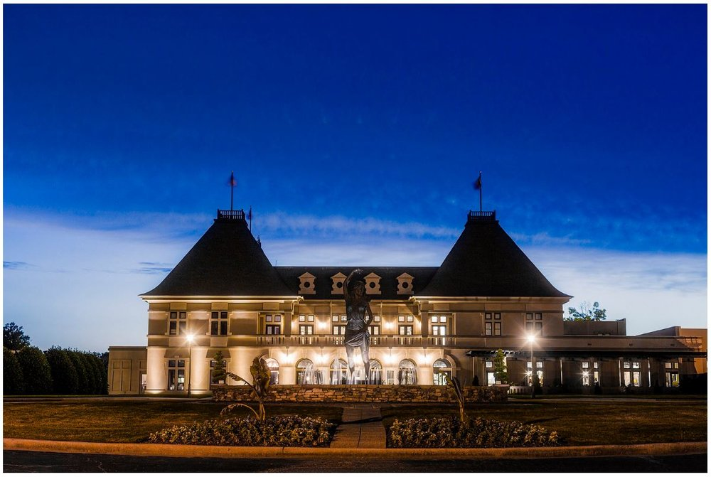 Château Élan at night (photo courtesy of Château Élan)
