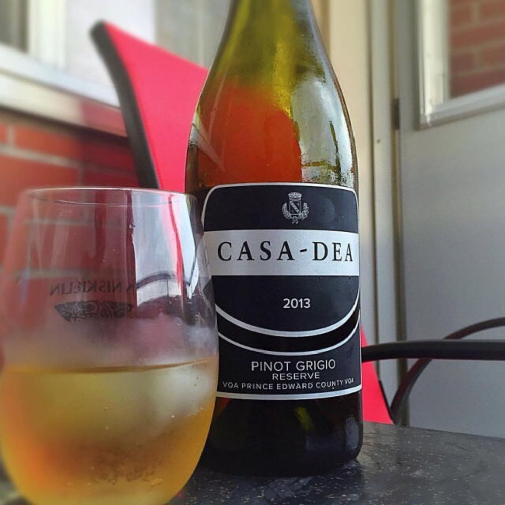 This Pinot Grigio from Casa Dea winery suits summer relaxation perfectly.