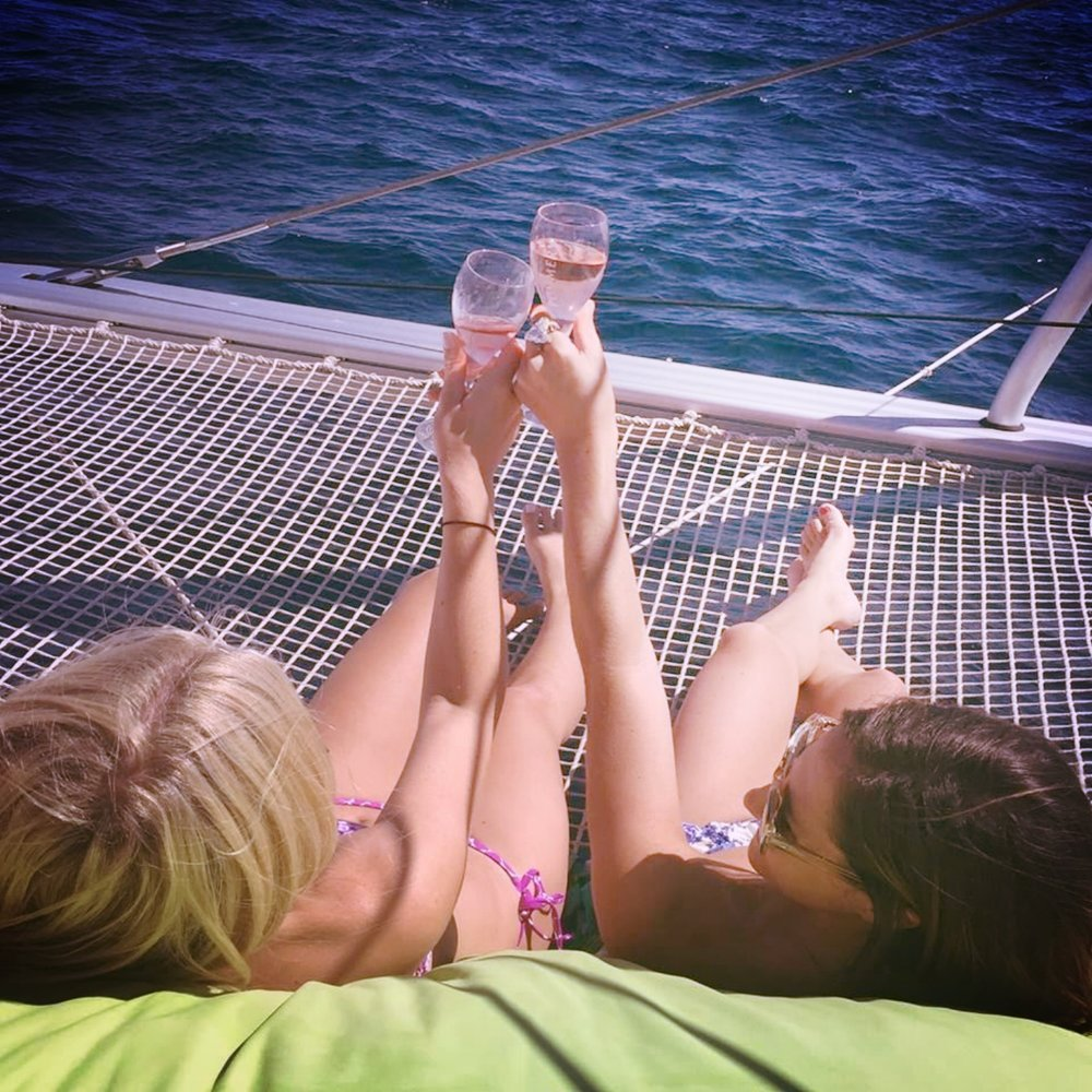 August 2015 – St. Tropez, France  After much planning and preparation for our first trip as social media influencers, we finally could relax on a yacht in St. Tropez. One of my favorite days ever.