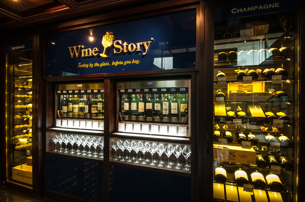 Wine Story Rockwell - Enomatic Machine