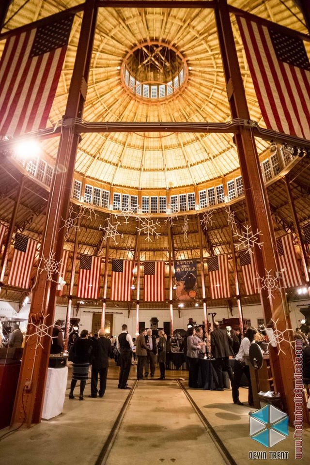 The gorgeous B & O Railroad Museum, Baltimore Maryland // photo credit to Umbrella Syndicate
