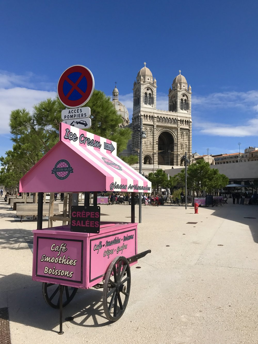 #WineTourist #Marseille - We drove to the cute coastal town of Marseille in Southern France.