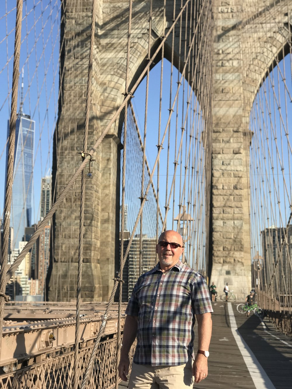 3Bs -- B at the Brooklyn Bridge