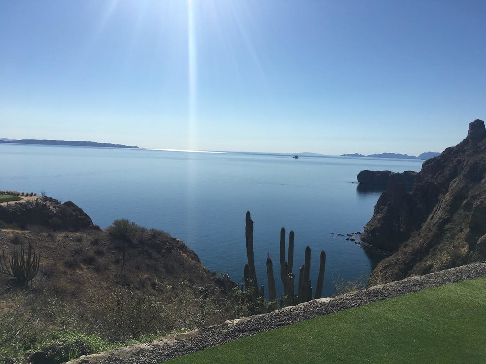 Mexico's Sea of Cortes - The view from the 17th hole