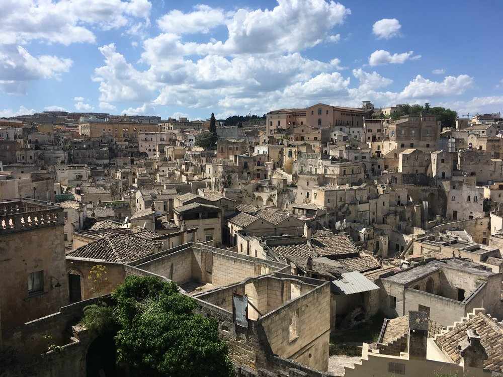Matera: The European Union's Capital of Culture.
