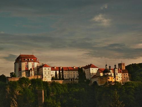 The baroque Vranov nad Dyjí Chateau.