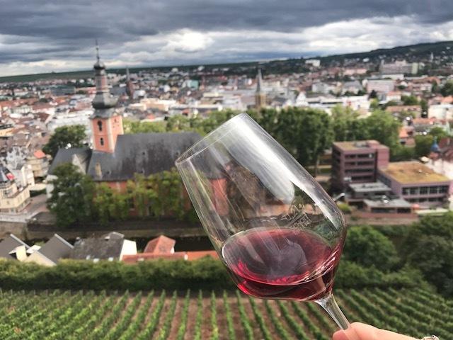 A wine tasting in Strasbourg, France.