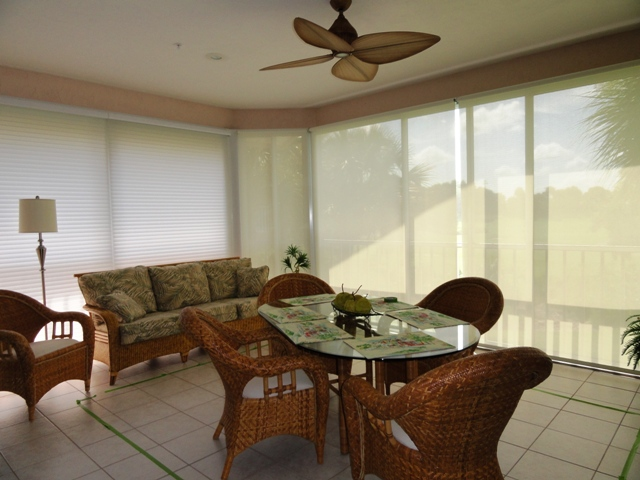 photo of condo lanai before makeover