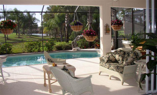 Delightful Outstanding Pool Lanai Decorating ...