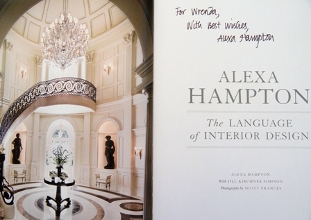 Photo of Alex Hampton autograph for Wrenda Goodwyn
