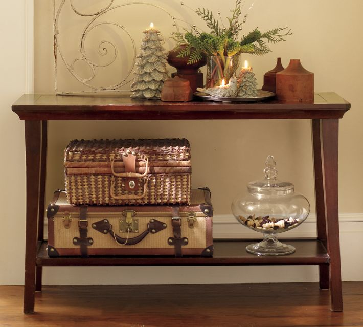 Photo of Pottery barn entry table