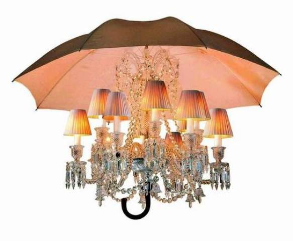 Photo to Baccarat chandelier