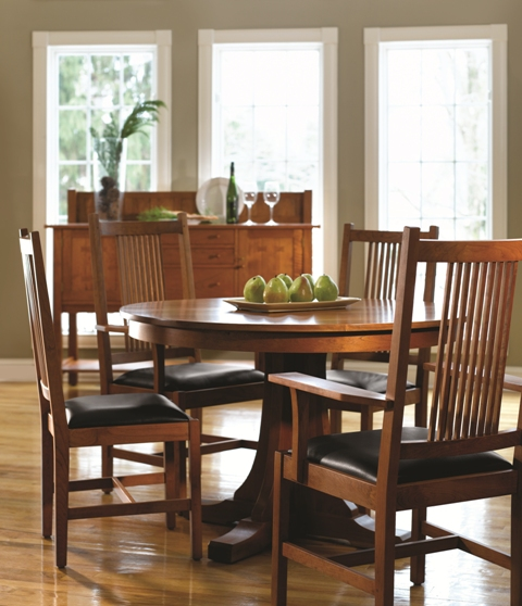 Photo of Stickley Furniture Mission Dining Collection