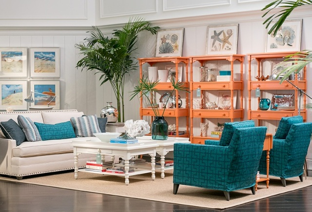 Coastal living retreat. Photo: Stanley Furniture.