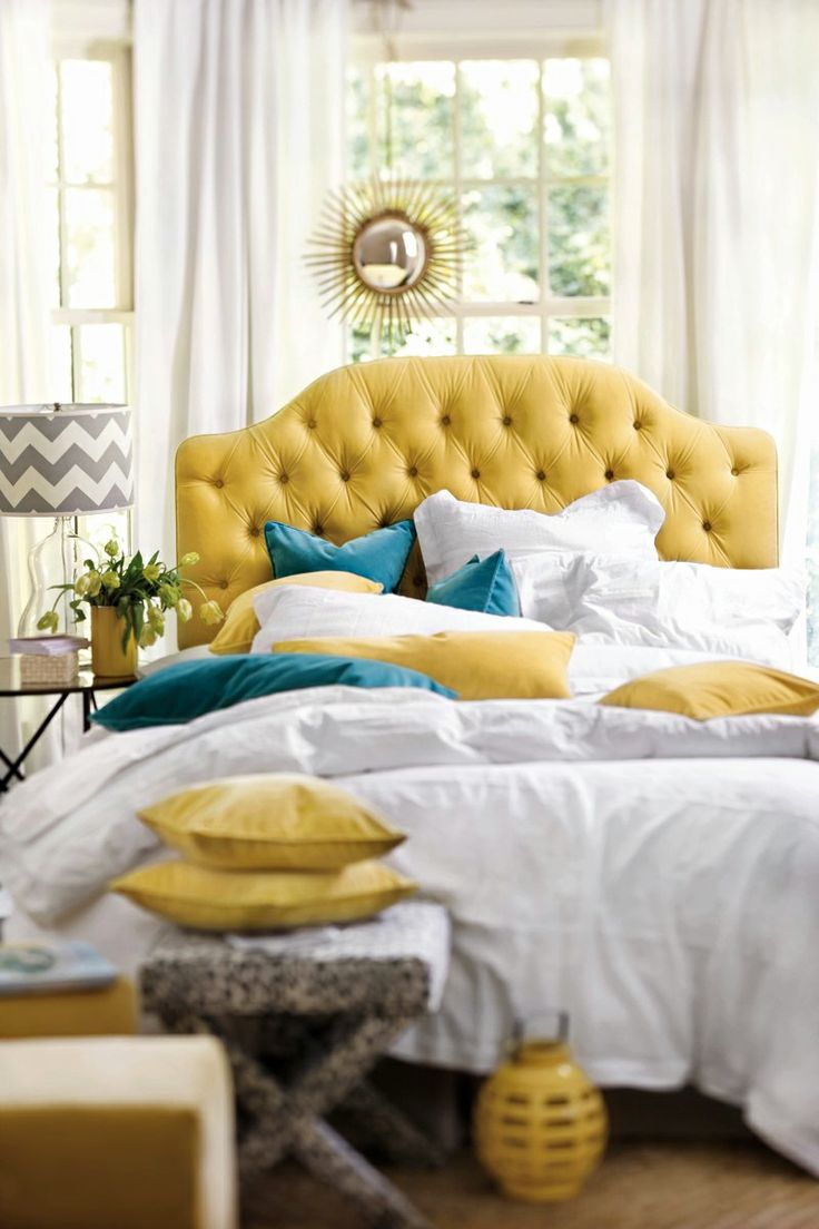 Tufted headboard from Ballard Designs. Photo: Ballard Designs.