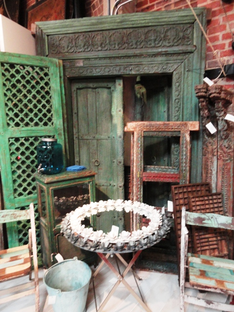 Photo 3 Antique architectural pieces for accents.JPG