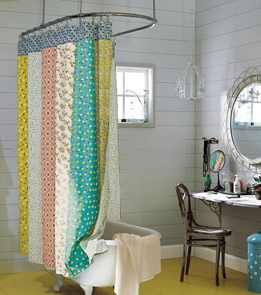 Photo of shower curtain