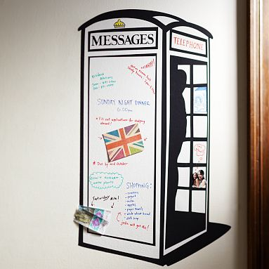 Phone Booth Message decal from Pottery Barn is also a dry erase board..jpg