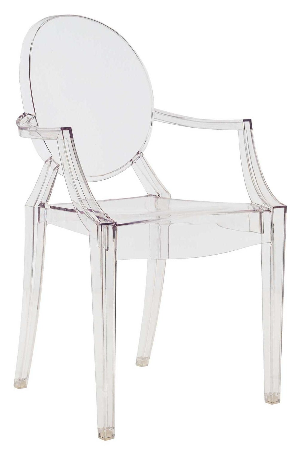 Ghost Chair, designed by Philippe Starck. Photo: Casa Italia.