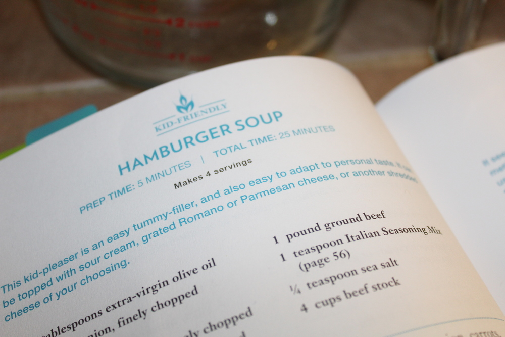 Wheat Free Hamburger Soup