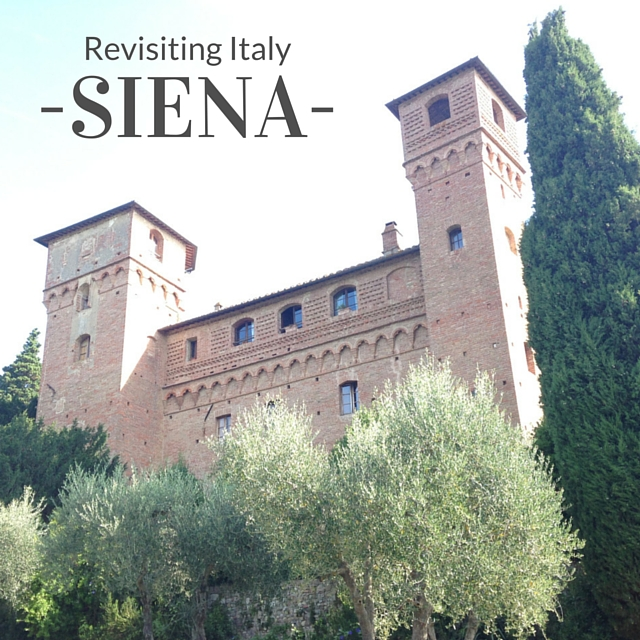 Revisiting Italy | Siena