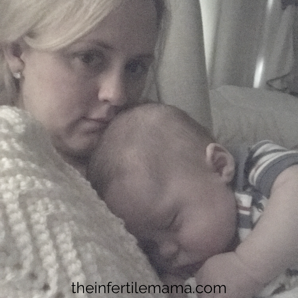 My Postpartum Silence | The Infertile Mama