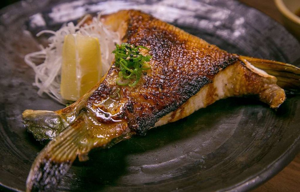 Grilled yellowtail collar at Village Sake in Fairfax.Photo: John Storey, Special To The Chronicle